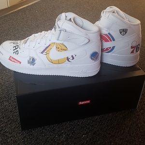 Nike/Supreme/NBA White Air Force 1